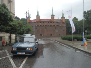Barbakan, Krakow