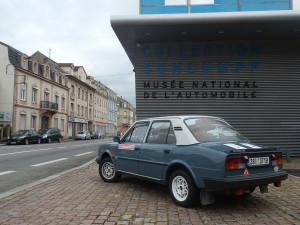 Největší automobilové muzeum světa, Moulhausy, Francie