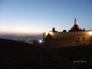 Pašův hrad nad Dogubayazitem
