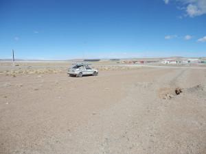 Hraniční přechod Paso de Jama mezi Argentinou a Chile (4400m.n.m)