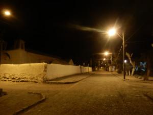 Momentka s kostelem na chilském venkově