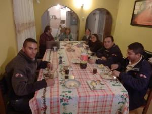 V této rodině jsem našel dočasný azyl při opravě mého vozidla v Chile