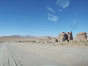 Mezinárodní silnice k bolívijské hranici není na průjezd asi vždy to nejlepší