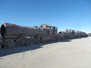 Hřbitov lokomotiv, Bolívie