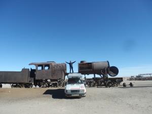 Rapid a mašinfíry, Bolívie