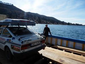 Na rybníku Titicaca