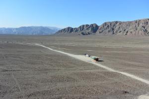 Pískoviště, Nazca