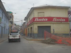 V Jižní Americe snad není městečka, kde by chyběl...
