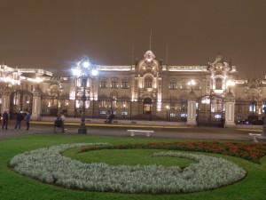 Prezidentský palác na Plaza de Armas, Lima