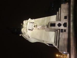 Pomník San Martimu, Lima