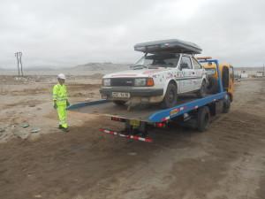 Bohužel jsem ujel jen několik stovek km a náročná, ovšem provizorní oprava motoru, vzala za své.