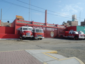 Peruanos bomberos