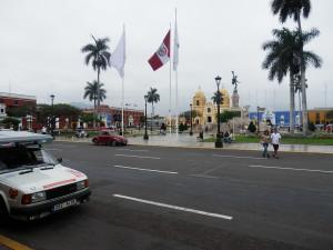 Trujillo na severu Peru