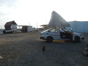 Poslední spaní na peruánském území