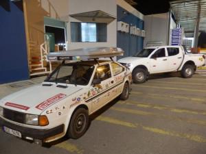 Peruánci mi vozidlo zkonfiskovali. Jako důvod uvedli, že vůz porušil transit v zemi a zůstal zde o několik dní déle než měl.