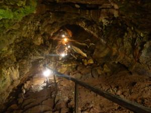 Na Galapágách jsou zajímavé, vulkanickou činností vzniklé jeskyně