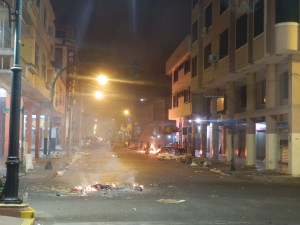 Jihoameričané dokážou občas při oslavách město proměnit na válečnou zónu