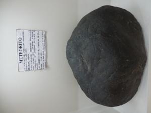 Muzeum Ambato, meteorit o váze 192kg věnovaný v roce 1970 místním traktoristou