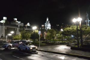 Náměstí nezávislosti, Quito. Od roku 1978 je městské historické centrum pod ochranou UNESCO