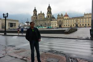 Hlavní náměstí v Bogotě