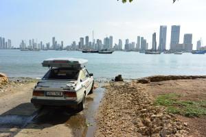 Půjdeme se koupat, Cartagena, Kolumbie