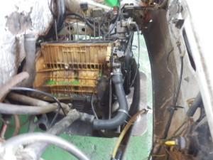 V Bogotě taková ta klasická kontrola motoru, zda je vše v pořádku...