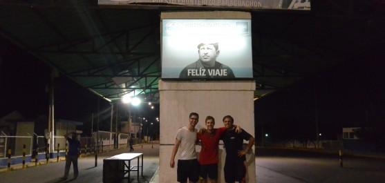 Pod velkým Hugem...aneb se spolužáky ve Venezuele
