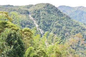 Vodopád přes tři kopce