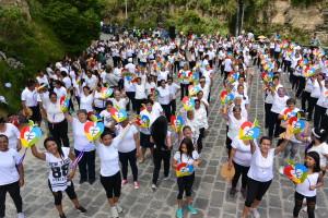 Zdravíme do Čech! Las Lajas, Kolumbie